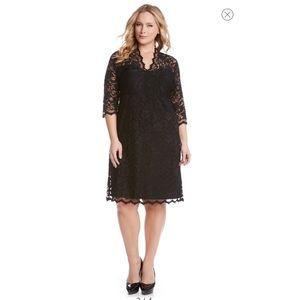 Karen Kane Lacey dress